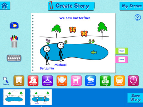 Super Duper Story Maker Create Story