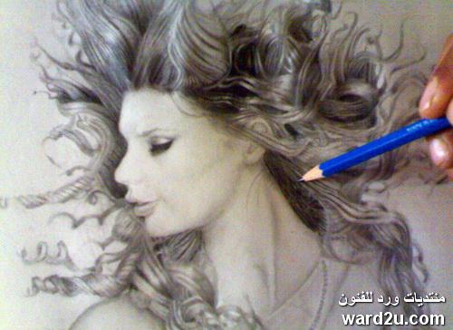 مجموعة من رسوماتى بالقلم الرصاص