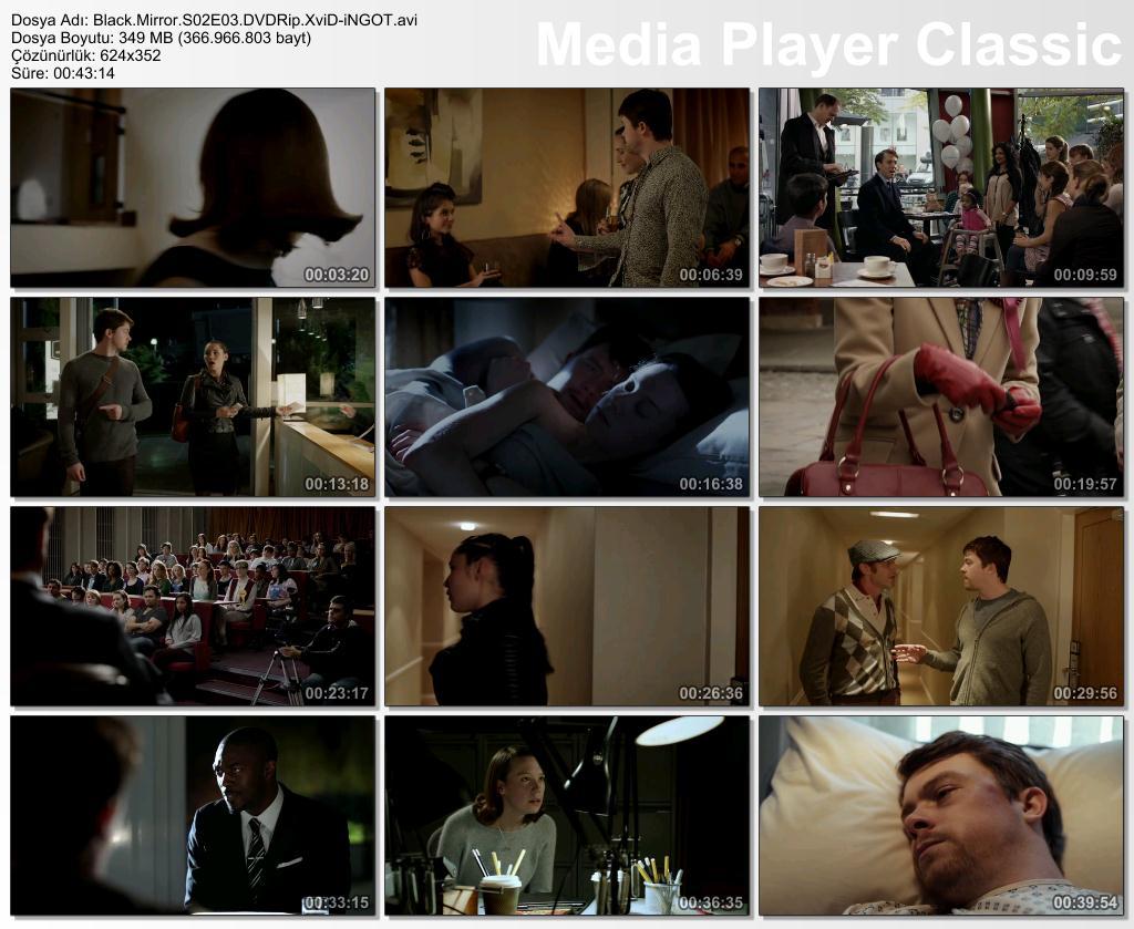 Black Mirror 2. Sezon Tüm Bölümler DVDRip XviD Türkçe Altyazılı Tek Link indir