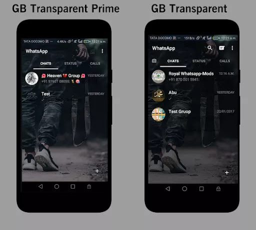 Gbwhatsapp transparent prime apk download