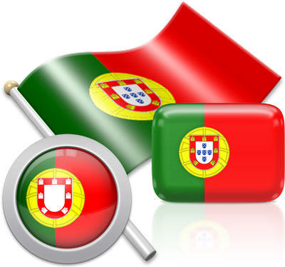 Portuguese flag icons pictures collection