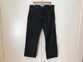Marc Jacobs Collection Raw Denim Jeans