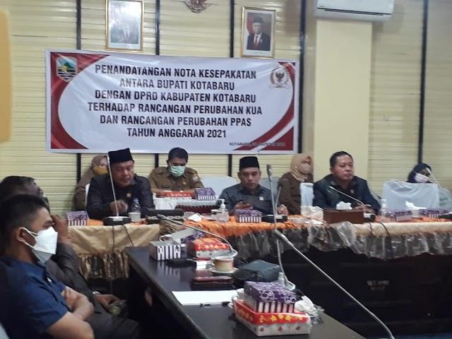 Kisruh Pengurangan TNP, DPRD Gelar Rakor dengan Pemkab Kotabaru
