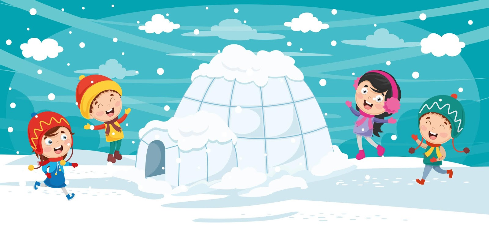 Vector Illustration Igloo Free Download Vector CDR, AI, EPS and PNG Formats