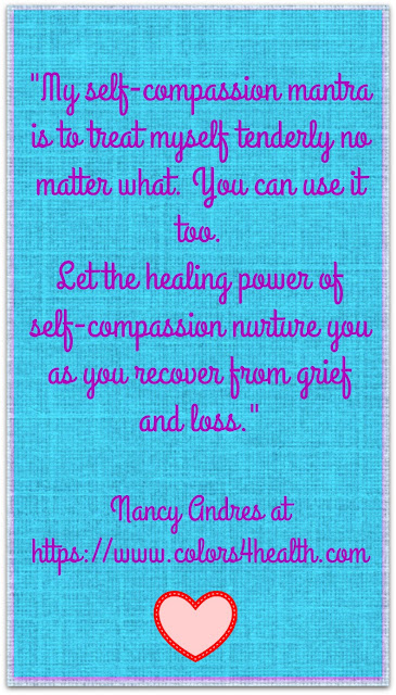 Self-compassion mantra at Colors 4 Health