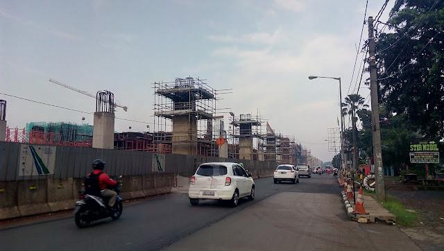 Progress Pembangunan MRT Jakarta View