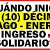 Ingreso Solidario enero 2021: ¿Qué se sabe sobre la fecha del giro 10?