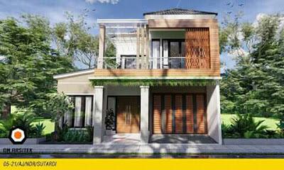 desain atap rumah minimalis 7x9