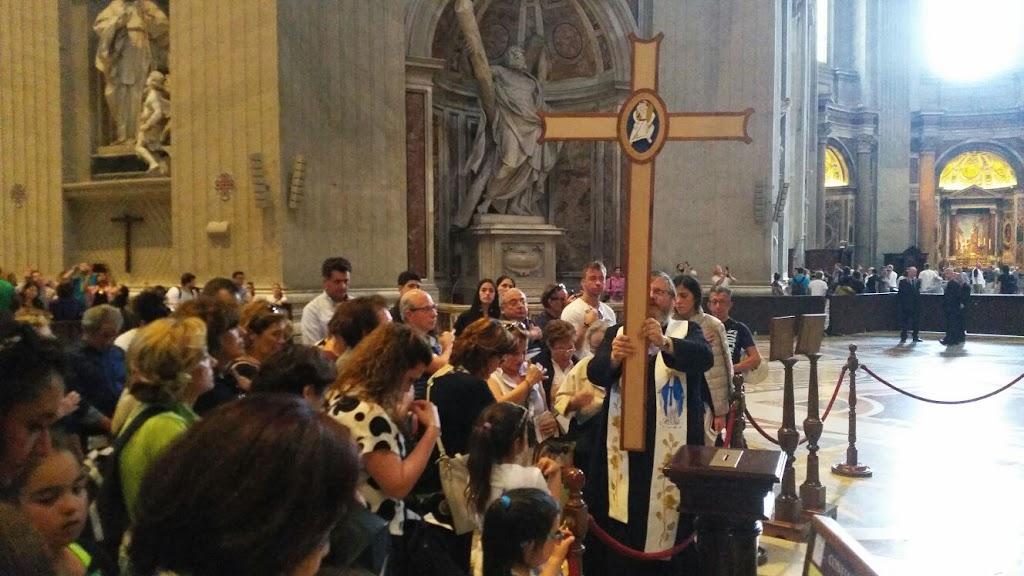 Pielgrzymi z Castellammare w Rzymie, 8 czerwca 2016 - IMG-20160608-WA0028.jpg