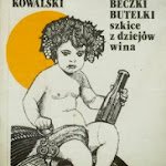 """Krzysztof Kowalski """"Amfory, beczki, butelki. Szkice z dziejów wina"""", Ludowa Spółdzielnia Wydawnicza, Warszawa 1989.jpg"""