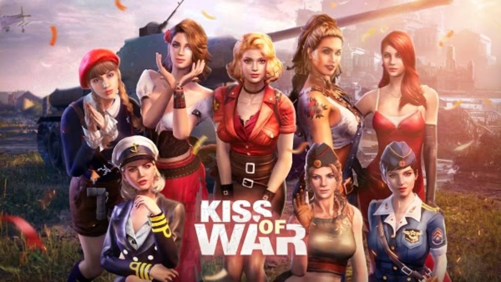 تحميل لعبة Kiss of War مهكرة اخر إصدار للاندرويد