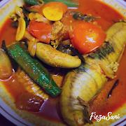 Dapur FiezaSani - Resipi Kari Telur Ikan