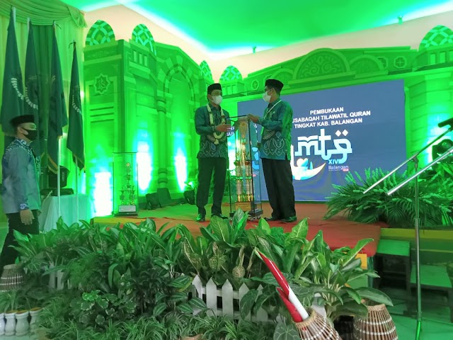 Bupati Abdul Hadi Resmi Buka MTQ Ke-14 Balangan