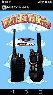 Wi-Fi Talkie Walkie free - náhled