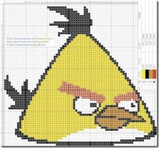 Angry Birds esquemas gratis Punto de cruz (3)