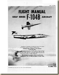 Lockheed F-104B Flight Manual_01