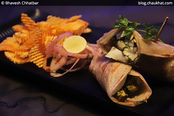 Pahadi Paneer Roll, BarBar, Phoenix Market City, Viman Nagar, Pune
