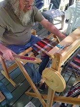 Photo: student mark weaving