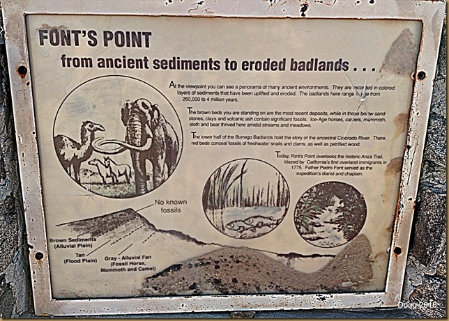 Font's Point sign