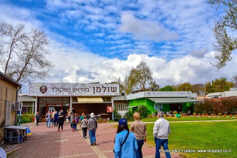Музей шоколада в кибуце Дафна. Экскурсия на Север Израиля.