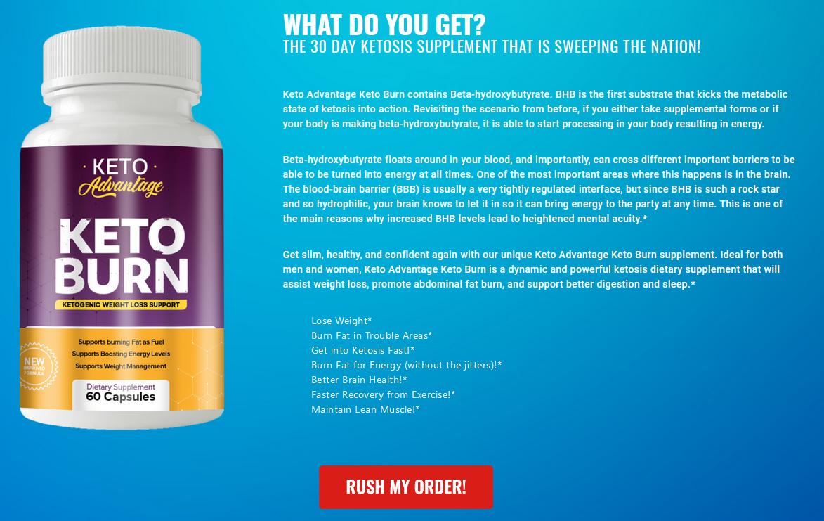 Keto Burn Keto Advantage Reviews: The Best Keto Burn Keto Advantage Weight  Loss Pills (Updated 2021)