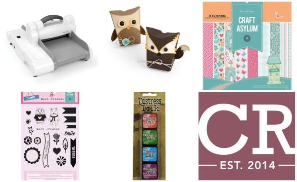 Creative Rox shop online materiali scrapbooking big shot fustelle
