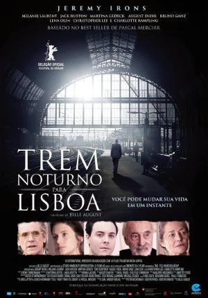 Filme Poster Trem Noturno para Lisboa DVDRip XviD Dual Audio & RMVB Dublado