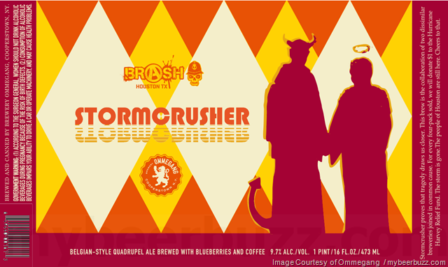 Brewery Ommegang & Brash Brewing Collaborate On Stormcrusher Cans