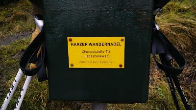 Stempelkasten: Harzer Wandernadel