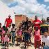 Jovens do Grupo Natal solidário dos Xonadinhos fazem campanha e distribuem brinquedos neste Natal em Ruy Barbosa
