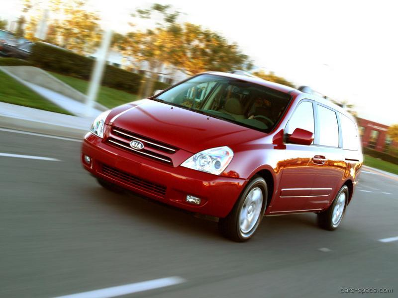 2006 kia sedona minivan specifications pictures prices. Black Bedroom Furniture Sets. Home Design Ideas