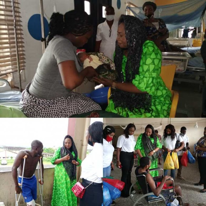 Governor Ayade Pays hospital bills, deliver palliatives to patients to mark World humanitarian day
