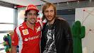 Fernando Alonso & David Guetta