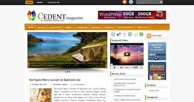 Free Wordpress Theme - Cedent