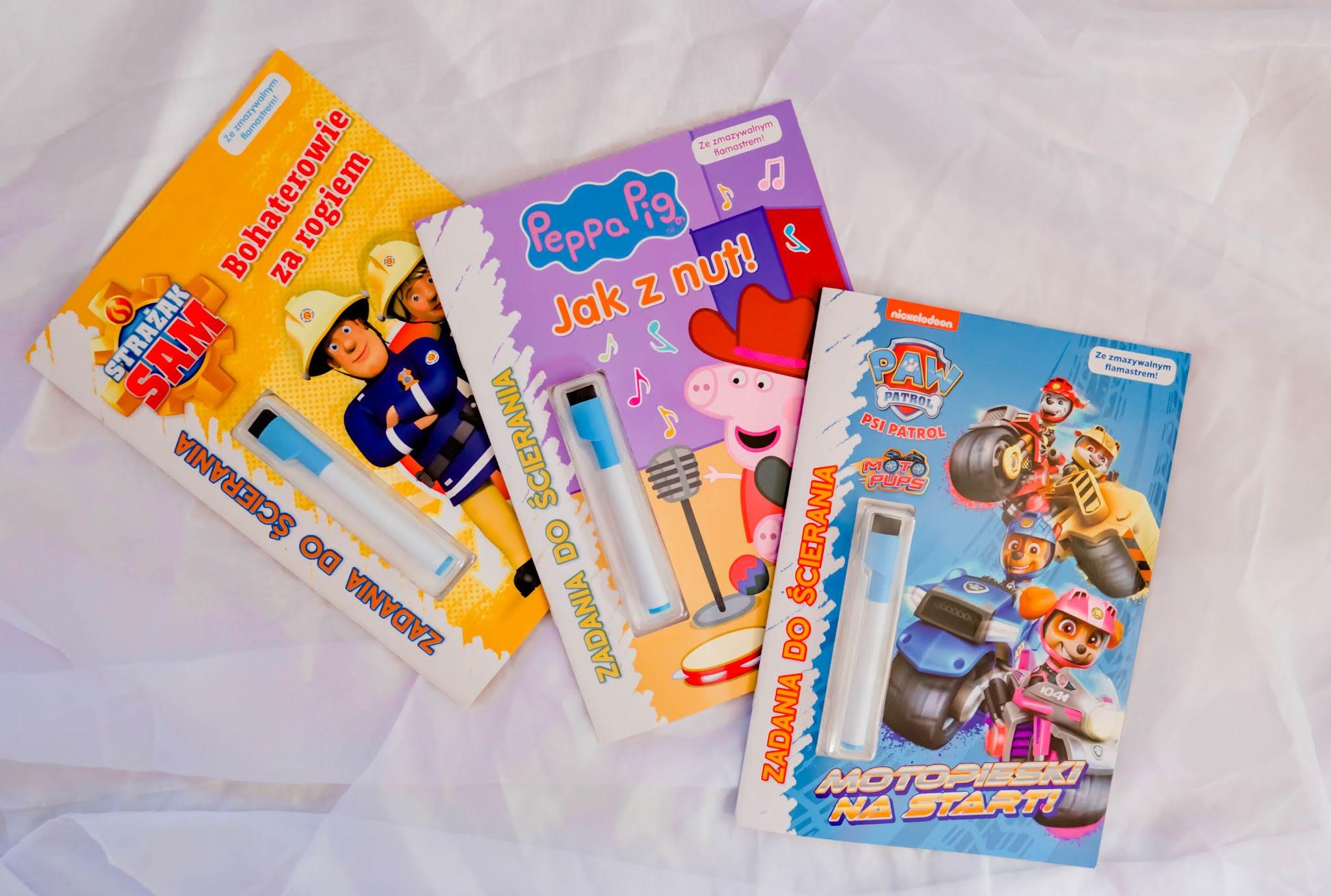 książki dla dzieci wielokrotnego użytku