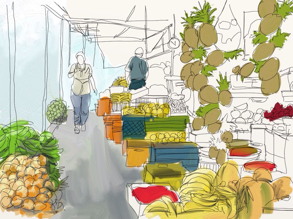 market made with Sketches