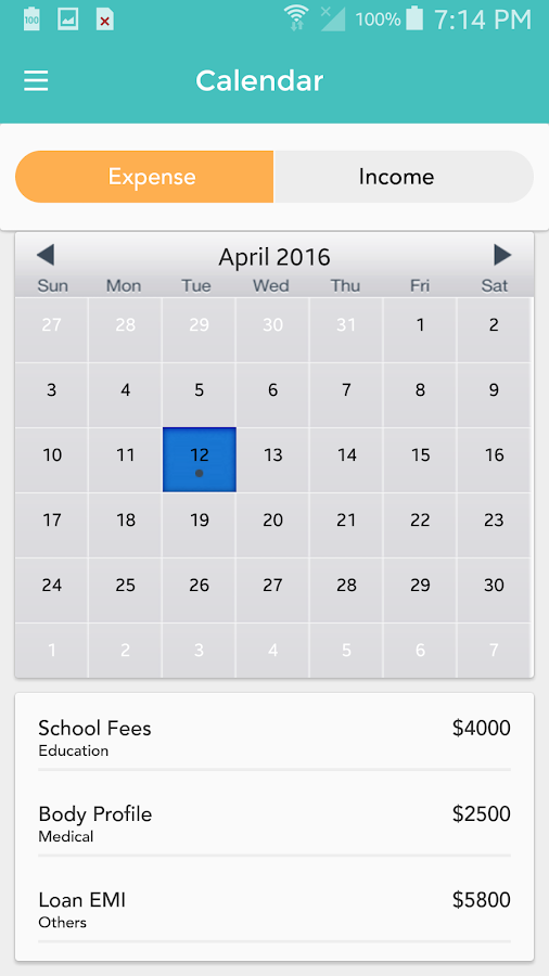 expense planner