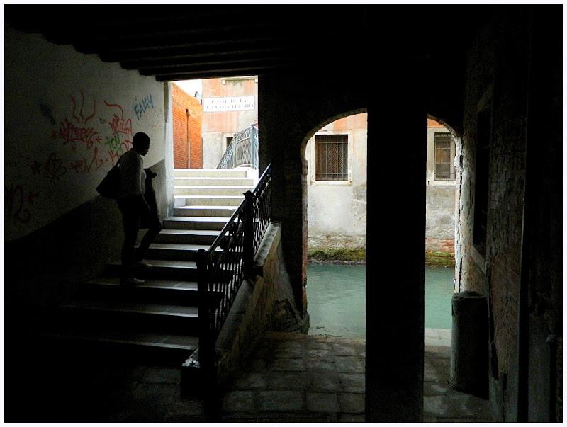 Sul ponte della Malvasia Vecchia di lucaldera