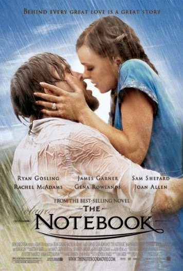 Poster Of English Movie The Notebook (2004) Free Download Full New Hollywood Movie Watch Online At alldownloads4u.com