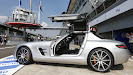 F1's safety car: the Mercedes SLS 63 AMG