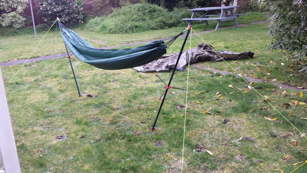 How To Hammock Camp Without Trees Page 2