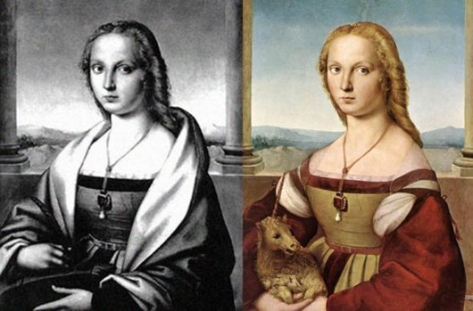 Потайное «дно» знаменитых картин