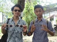 Kreatif, mahasiswa UMK kembangkan frame kacamata berbahan baku kayu skateboard
