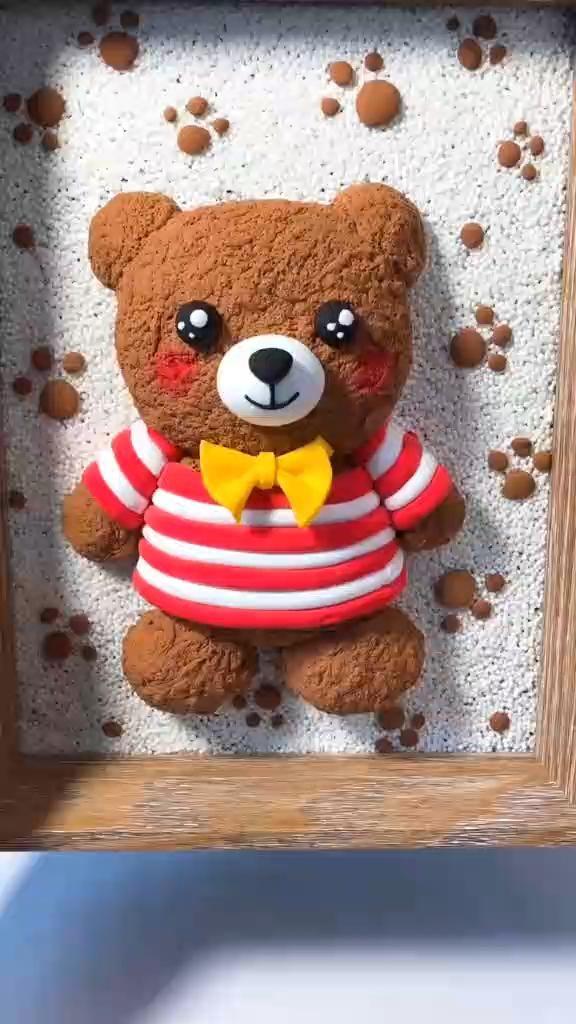 Handmade DIY Cute Little Bear