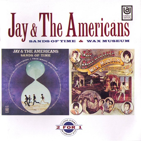 Jay & The Americans - Sands Of Time  Wax Museum - Front (1)