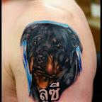 rottweiler - tattoos for women