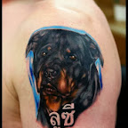 rottweiler - tattoos for women