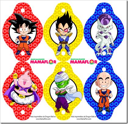 Imprimibles Gratis de Dragon Ball Z