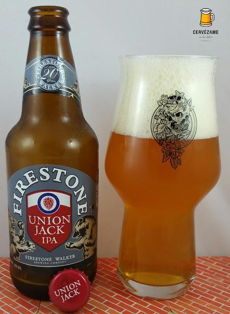 cerveza beer Firestone Walker Union Jack IPA cervezame
