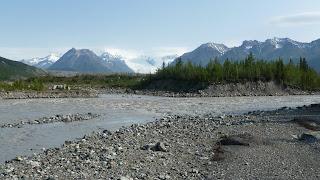 kennicott river morning
